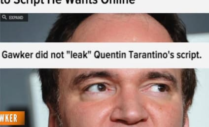 Gawker Hits Back at Quentin Tarantino Lawsuit: All We Did Was LINK to Your Script!