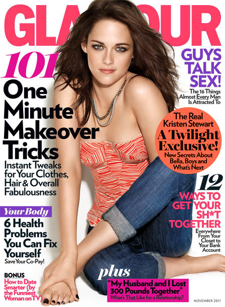 Kristen Stewart Glamour Cover