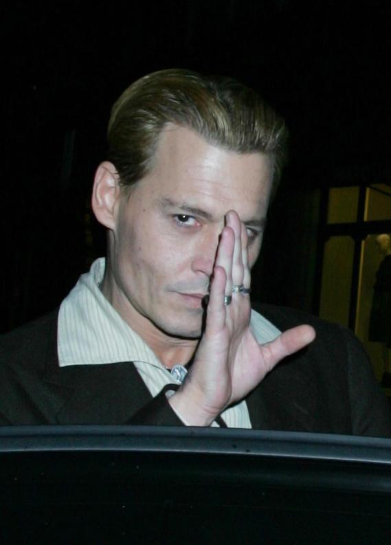 Johnny Depp Waves