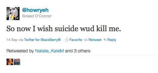 O'Connor Tweet