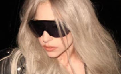 Lady Gaga Steps Out in Sweden