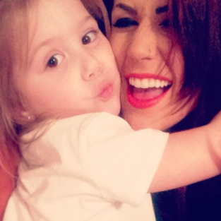 Chelsea Houska and Aubree