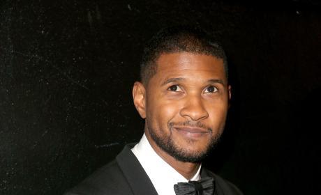 Usher in a tux