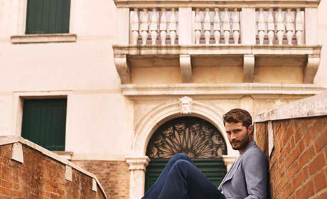 Jamie Dornan in Hogan