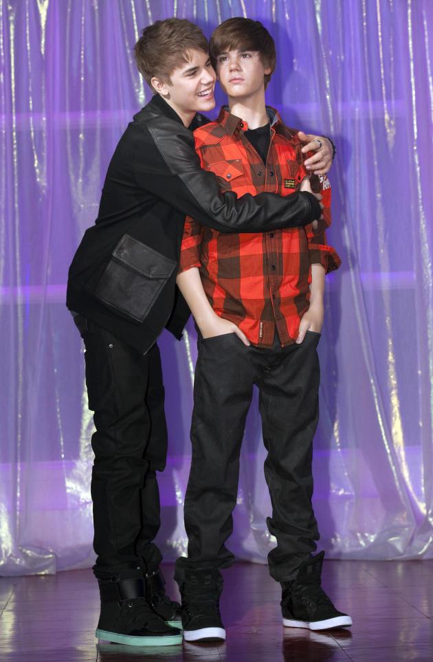 Justin Bieber Wax Statue