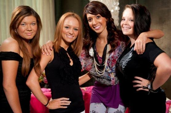 Stars of Teen Mom