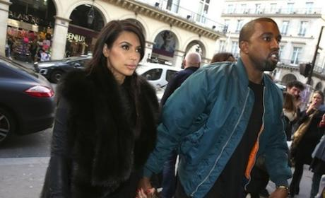 PETA Slams Kim Kardashian for Fur Coat, Setting Bad Example for Unborn Child