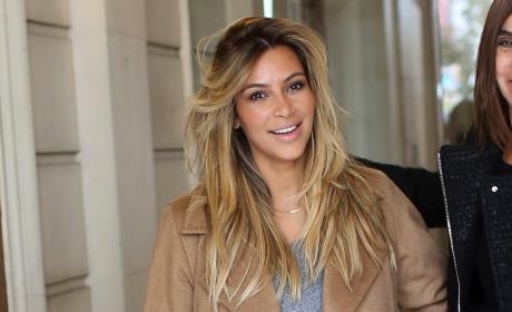 Kim Kardashian Post-Baby Photo