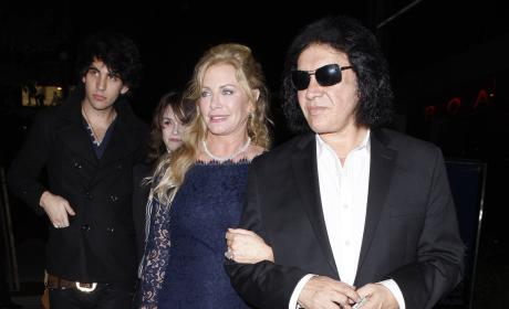 Gene Simmons-Shannon Tweed Wedding Not a Sham, Son Nick Swears