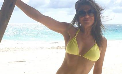 Elizabeth Hurley Looks HOT in New Bikini Pics!
