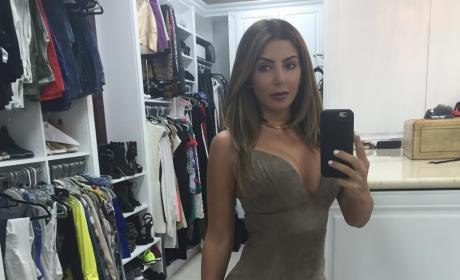 Larsa Pippen Closet Selfie