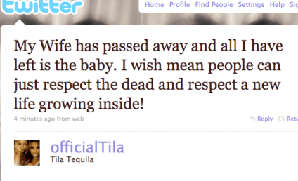 Tila Tequila Twitter Ticker: Possible Pregnancy Ahead!