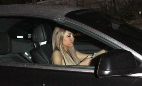 Amanda Bynes at the Wheel