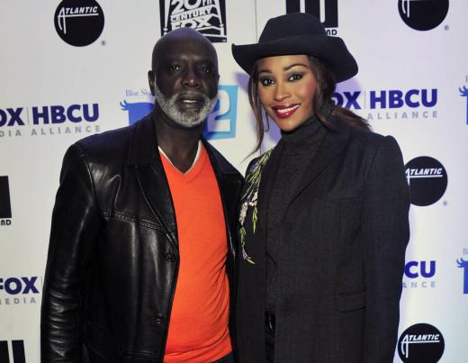 Cynthia Bailey with Peter Thomas