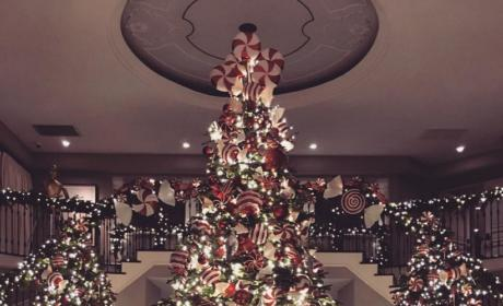 Kris Jenner Wins Christmas,  Puts Your Tree To Shame