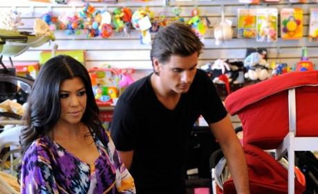 "Kourtney Kardashian is ""Scared"" of Babies"