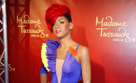 Rihanna Wax Figure