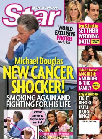 Michael Douglas Cancer Shocker!