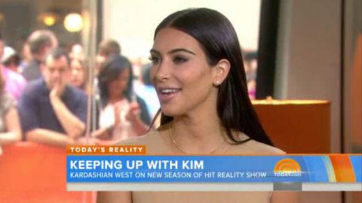 Kim Kardashian Today Show Appearance