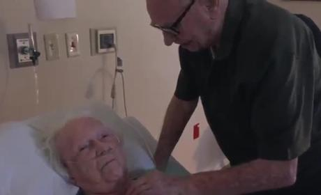 92-Year Old Husband Sings Love Song to Dying Wife