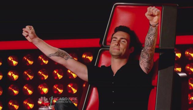 Adam Levine Wins!