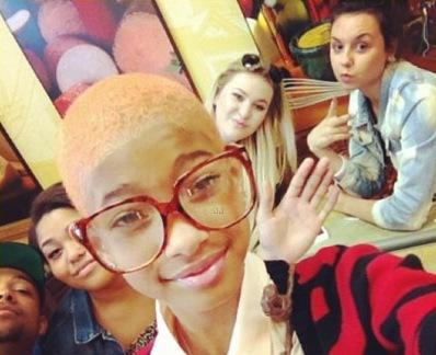 Willow Smith Shaved Head
