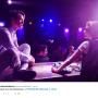 Evan Rachel Wood and Michael Thomas Grant Performing