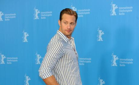 Alexander Skarsgard: 'Warn on Everyone' German Photocall
