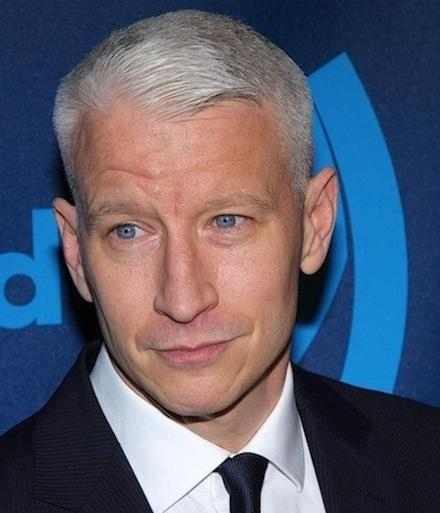 Anderson Cooper, Blue Eyes