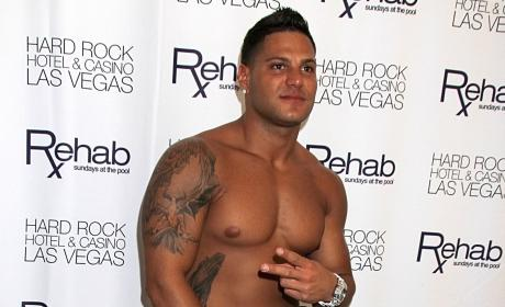 Ronnie Magro Shirtless