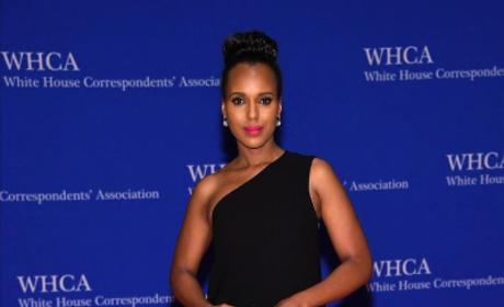 Kerry Washington at the 2016 White House Correspondents Dinner