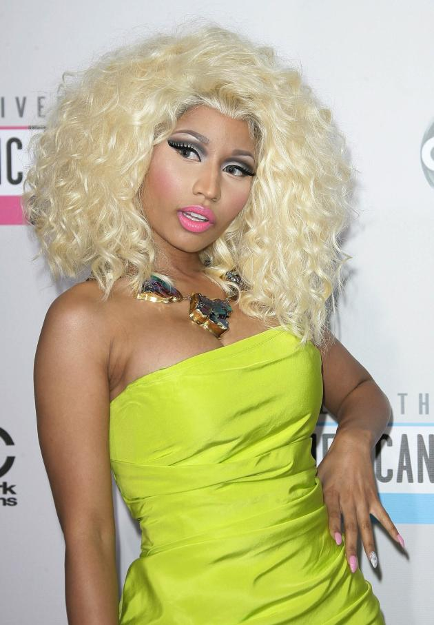 Nicki at the AMAs