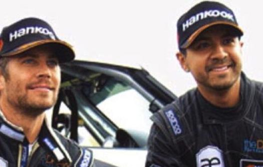 Paul Walker and Friend