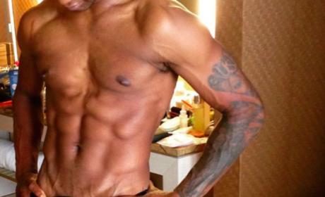 Usher underwear bulge