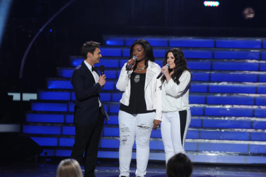Candice Glover and Kree Harrison on the Finale