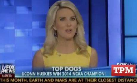 "Fox & Friends First Anchor Refers to UConn as ""NAACP"" Champions"