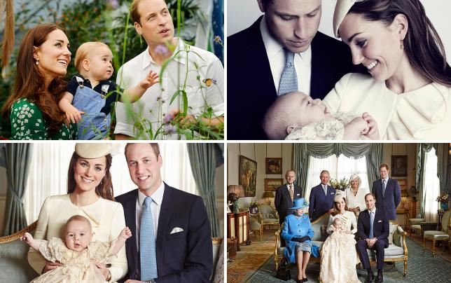 Prince george and parents