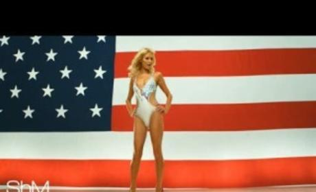 Candidate Paris Hilton Stumps For Votes