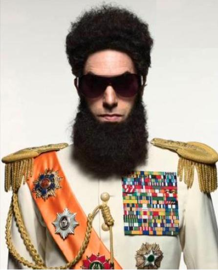 Sacha Baron Cohen is The Dictator