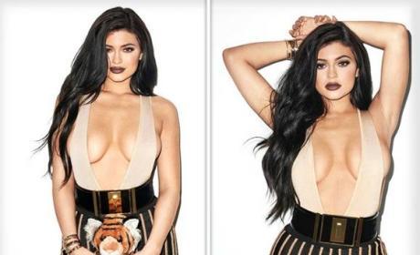 Kylie Jenner Tiger Toy Photo