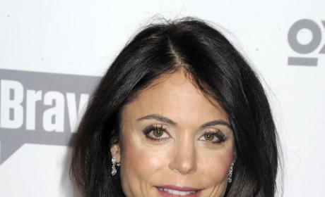 Bethenny Frankel In Blue Dress