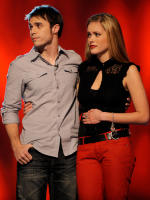 Kris Allen and Megan Corkrey
