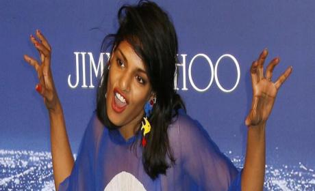 M.I.A. Flips Off Super Bowl Viewers
