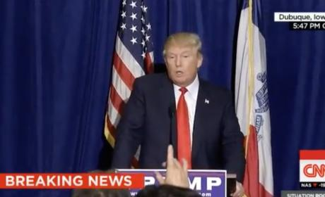 Donald Trump to Jorge Ramos: Go Back to Univision!
