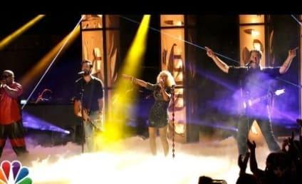 Christina Aguilera, Cee Lo Green, Adam Levine & Blake Shelton Perform on The Voice