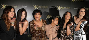 24 Eye-Katching Kardashian Red Karpet Photos
