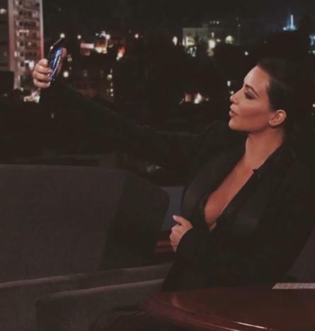 Kim Kardashian Selfie Time!