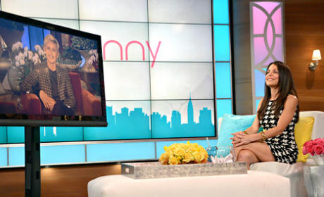 Ellen Visits Bethenny, Denies Rift Between Talk Show Hosts