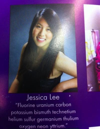 Hidden Yearbook Message