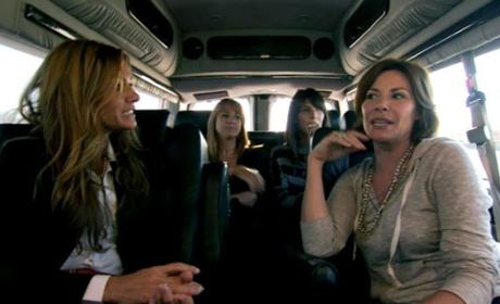 The Real Housewives of New York City Recap: Travel Reservations